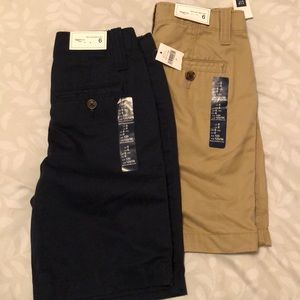 Gap shorts boys size 6  new with tags